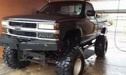 lifted 1990 chevy k1500