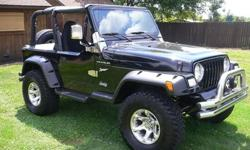 LIFTED 1997 Jeep Wrangler