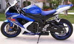 ~~~~like new~~~~2008 Suzuki GSX-R600...This is a great deal