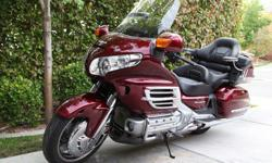 LIKE NEW 2009 Honda Gold Wing 1800