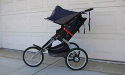 Like New B.O.B. Single Ironman Stroller