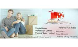 Load / Unload : Dedicated Movers : Last Minute Service