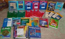 (lot 7) large lot of homeschooling / teaching books
