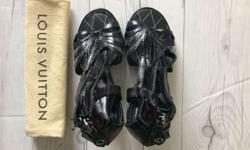 Louis Vuitton /Leather Women Heels/ Limited edition/size