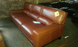 Luke Cognac leather Sofa