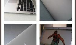 "Macbook Air (11"", Core I5, ONLY 5 bat cycles)"