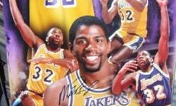 Magic Johnson 16x20 Photo autographed signed