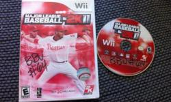 Major League Baseball 2K11 (Nintendo Wii, 2011)