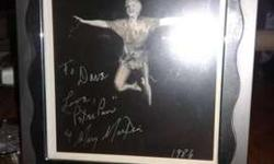 Mary Martin autograph as peter pan