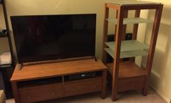 Media/TV stand and A/V rack