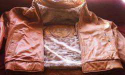 Mens Reversible leather jacket