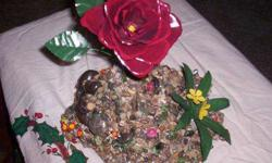 Metal Flowers and Arrangeents Made from Recycled Material