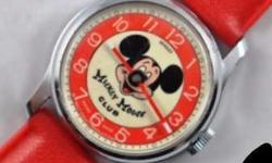 Mickey Mouse watches 1970's