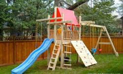 Mighty Swings Outdoor Children Swing Set