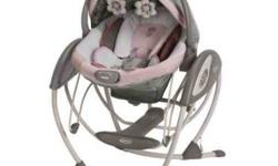 Minnie Mouse 2 in 1 swing glider
