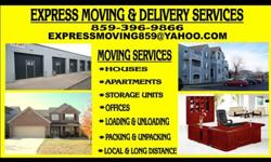 Moving and Delivery Service