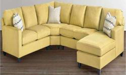Moving out of Storage Sale 3 Piece Microsuede Sectional