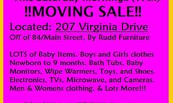 Moving Sale -207 Virginia Drive