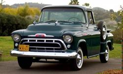 Museum Restoration 1957 Chevy Pickup Truck