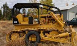 Must Sell! D7 Caterpillar Bulldozer