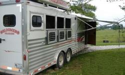 n2004 Bloomer 4 Horse Trailer