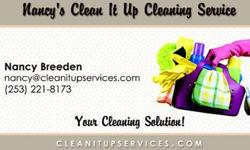 Nancy's Clean It Up Cleaning Service