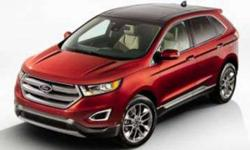 New 2018 Ford Edge 4dr AWD