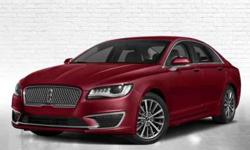 New 2018 Lincoln MKZ FWD