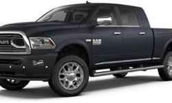 New 2018 Ram 2500 4x4 Mega Cab 6'4 Box