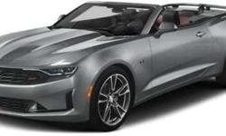 New 2019 Chevrolet Camaro 2dr Cpe