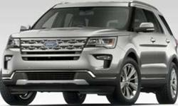 New 2019 Ford Explorer FWD