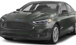 New 2019 Ford Fusion FWD