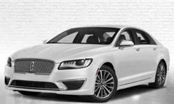 New 2019 Lincoln MKZ FWD