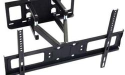 New HEAVY DUTY Full Motion Wall Mount for TV's 32-70,