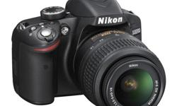 NEW Nikon D3200 24.2 MP CMOS Digital SLR with 18-55mm