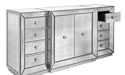 New! Omni Mirrored Buffet SEEN AT Z-GALLERIE only for LOS