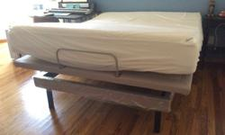 New Queen Tempurpedic Mattress & Fram For Sale