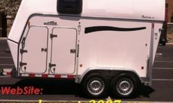 nHY 2007 Brenderup Baron TC 2 Horse Trailer
