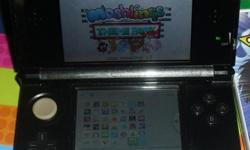 Nintendo 3ds in good condition has about 15 games on the