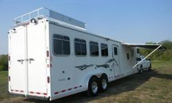 o21 2005 Logan Qualifier 4 Horse Trailer