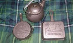 Old Mountain Cast Iron Collectors Cookware (Norman)