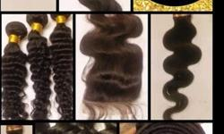 Package Deal 2 BRAZILIAN BUNDLES plus a SEW-IN for $175