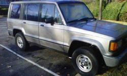 Parting out ISUZU TROOPER 2.6L 4cyl 5spd 4x4 -Sell it all or