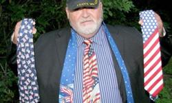 Patriotic Ball Caps & Ties Online