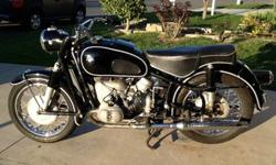 Perfect. 1967 BMW R-Series R60