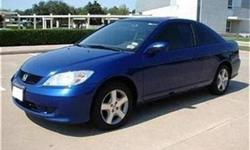 Perfect 2005 Honda Civic EX 1 OWNER