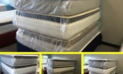 Pillow Top Full Size Mattresses - Brand New - High Quality &