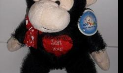 Plush Monkey valentine's day Gift