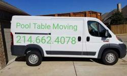 Pool Table Moving and Service