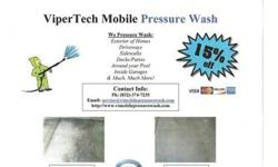 Power Washing Service Free Quotes 15% OFF